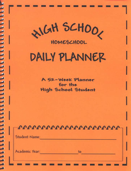 High School Homeschool Daily Planner   -     By: Carey Taylor