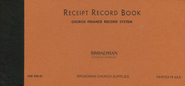 Receipt Record Book  -