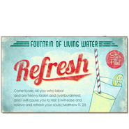 Fountain of Living Water, Refresh Magnet  -