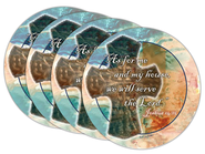 As For Me and My House Coasters, Set of 4  -