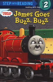 Step into Reading, Step 2: James goes Buzz, Buzz (Thomas and  Friends Series)  -     By: Rev. W. Awdry, Shana Corey     Illustrated By: Richard Courtney