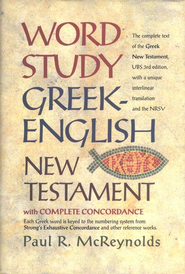 Word Study Greek-English New Testament   -     By: Paul R. McReynolds