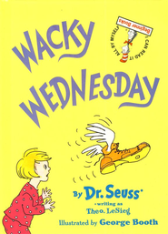 Wacky Wednesday, An I Can Read It All By Myself Beginner Book    -     By: Dr. Seuss