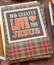 No Greater Love Than Jesus Cards, Box of 18  -
