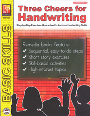 Three Cheers for Handwriting   -