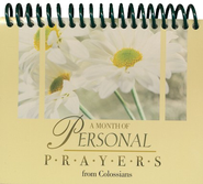 A Month of Personal Prayers From Colossians Desktop Calendar  -