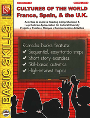 Cultures Of The World: France, Spain, & the U.K.   -