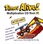 Times Alive! Multiplication Magic CD-ROM   -