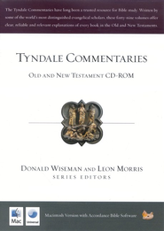 Tyndale Commentaries: Old and New Testament on CD-ROM (Macintosh)  -     By: Leon Morris, Donald J. Wiseman