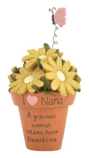 I Love Nana, A Gracious Woman Figurine  -