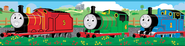 Thomas the Train, Vinyl Wall Stickers Border  -
