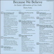 Because We Believe (CD Trax)   -
