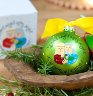 Silent Night Ornament to Personalize, Gift Boxed  -