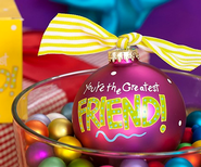 You're the Greatest Friend, Ornament to Personalize, Gift Boxed  -