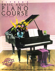 Alfred's Basic Adult Piano Course Lesson Book: Level One  -              By: Willard A. Palmer