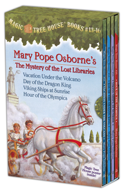 Magic Tree House: Books 13-16 Boxed Set  -              By: Mary Pope Osborne                   Illustrated By: Sal Murdocca
