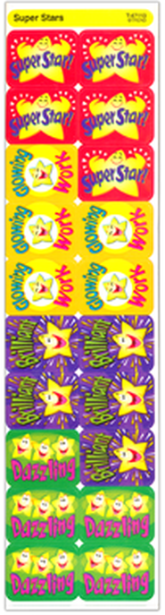 Super Stars Applause Stickers   -