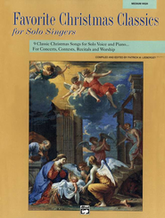 Favorite Christmas Classics for Solo Singers   -     Edited By: Patrick M. Liebergen     By: Patrick M. Liebergen, ed.