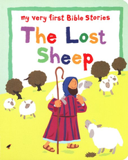 My Very First Bible Stories: The Lost Sheep, Board Book   -     By: Lois Rock     Illustrated By: Alex Ayliffe