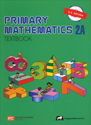 Singapore Math: Primary Math Textbook 2A US Edition   -