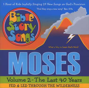 Bible Story Songs Moses  Volume 2 - The Last 40 Years CD  -     By: Catherine Walker