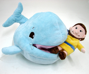 Plush Jonah & Fish   -