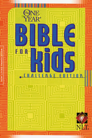 The NLT One-Year Bible for Kids, Challenge Edition   -