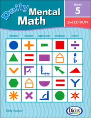 Daily Mental Math 5, 2nd Edition   -     By: Eddy Krajcar