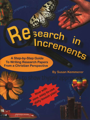 Research in Increments   -     By: Susan Kemmerer