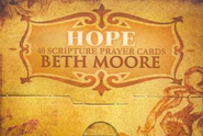 Scripture Prayer Cards: Hope  -     By: Beth Moore