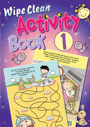 Wipe Clean Activity Book 1  -     By: Juliet David