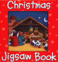 Christmas Jigsaw Book  -     By: Juliet David     Illustrated By: Sarah Pitt