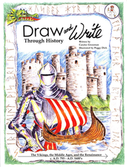 Draw and Write Through History Book 3: The Vikings, the Middle Ages, and the Renaissance  -     By: Carylee Gressman