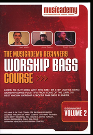 Beginners Worship Bass Course, Volume 2   -