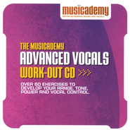 The Musicademy Advanced Vocals Work-Out CD   -