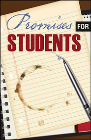 Promises for Students Tract  -     By: Crossway