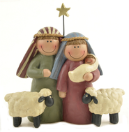 Nativity Family Figurine  -