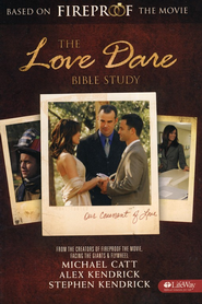The Love Dare Bible Study, Member Book   -     By: Michael Catt, Stephen Kendrick, Alex Kendrick