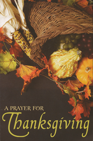 A Prayer for Thanksgiving Tract  -