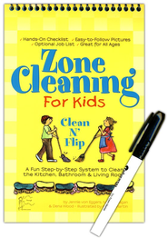 Clean N' Flip Zone Cleaning for Kids  -     By: Jennie von Eggers, M.J. Flanagan, Dena Wood