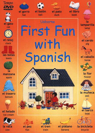 First Fun with Spanish, DVD   -