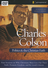 Charles Colson on Politics & the Christian Faith, DVD    -     By: Charles Colson