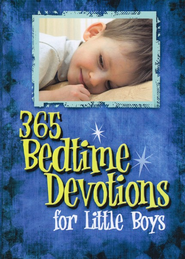 365 Bedtime Devos For Little Boys  -
