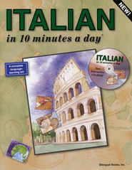 ITALIAN in 10 minutes a day® with CD-ROM   -     By: Kristine K. Kershul