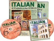 ITALIAN in 10 minutes a day®  AUDIO CD   -              By: Kristine K. Kershul