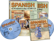 SPANISH in 10 minutes a day® AUDIO CD   -              By: Kristine Kershul