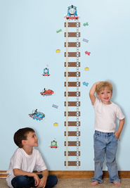 Thomas the Train, Vinyl Wall Stickers Growth Chart  -