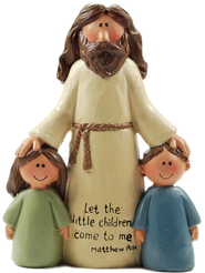 Jesus with Children, Let the Little Children Come  -