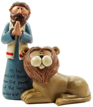 Daniel and the Lion, He Has Rescued  -