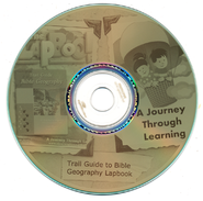 Trail Guide to Bible Geography Lapbook CD-Rom   -